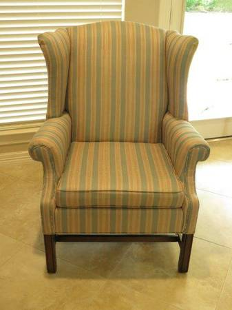 PRICE REDUCED Ethan Allen Wingback Chair - $135 (Kingwood)