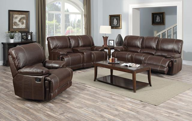 $1 399 Leather Reclining Living Room Set furniture