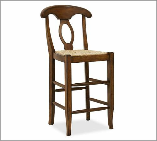 3 Pottery Barn Napoleon Bar Stools - $299 (Woodland Heights)