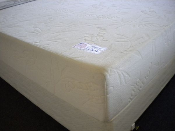 BED BUGS PROOF BAMBOO 10 GOLDEN PEDIC MEMORY FOAM MATTRESS SOFT - $539 (Jackrabbit Rd x West Rd x 290 HW)