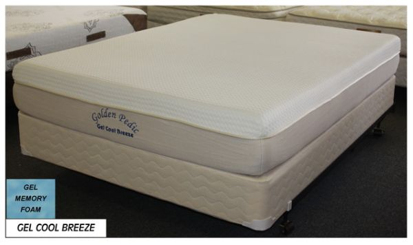 Gel Cool Breeze Golden Pedic Memory Foam Mattress Queen Size - $549 (Jackrabbit Rd x FM529)