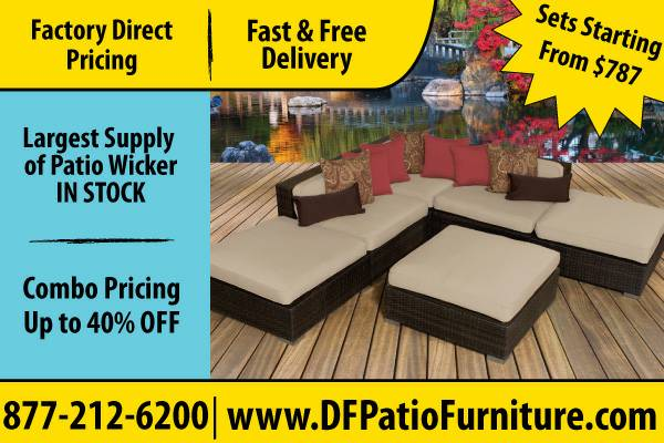 Wicker Furniture Outdoor Pieces For Sale  Grab Now (Houston)