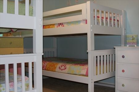 Cargo Pier 1 Kids White Twin Bed - $130 (LC 77573)