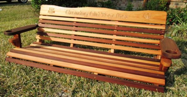 Cedar Porch Swings - Texas Bluebonnet - $300 (Richmond, Texas)