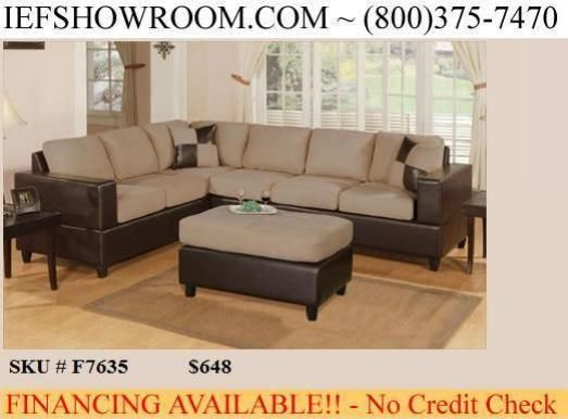 Sofa Hazel Nut Sectional (Houston)