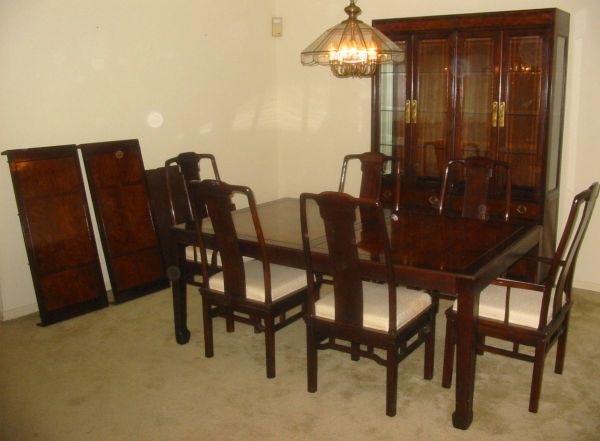 Drexel Heritage Dining Room Set with China Cabinet (West Houston)