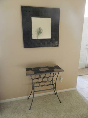 Slate Wine Rack Table- Pier 1 - $100 (Sugar Land)
