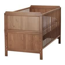 Ikea Leksvik Convertible Crib to Toddler Bed - $65 (Kingwood, TX)