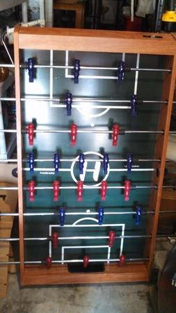 Multi-Game table foosballAir Hockey - $70 (Dickinson)