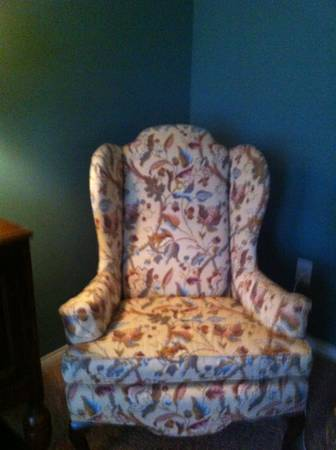 Ethan Allen Wingback Chair - $225 (Chions 1960)