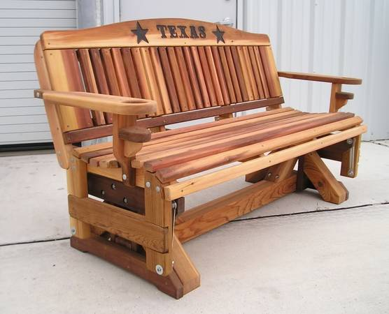 Cedar Bench Gliders - $640 (Richmond, Texas)