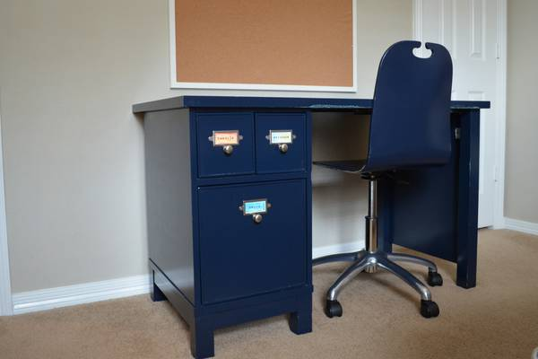 Pottery Barn Kids Desk and Chair - $150 (Katy)
