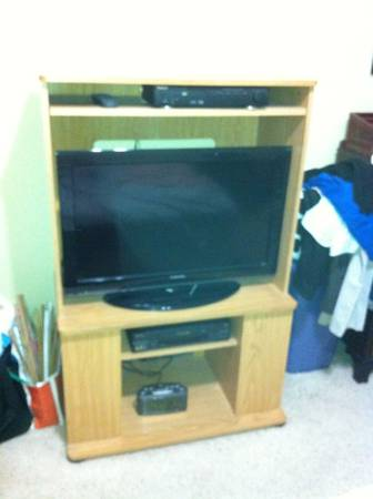 Entertainment Center - great for big screen TV - $20 (Meyerland)