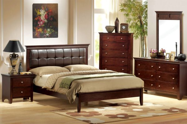the santa monica queen bed . free shipping (Financing Available. Order Now)