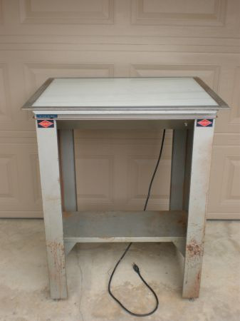 NUARC VLT23F Drafting Light Table 23 x 28 Proofing - $235 (HWY 6 CLAY ROAD 77084)