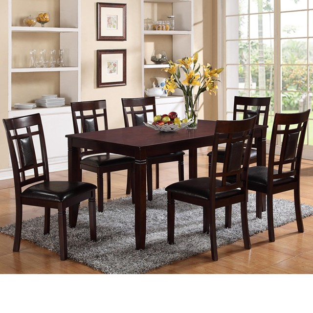 450  Dining set with 6 chairs New in Box