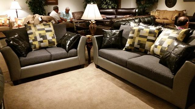 $499, Black Silver sofa sets New