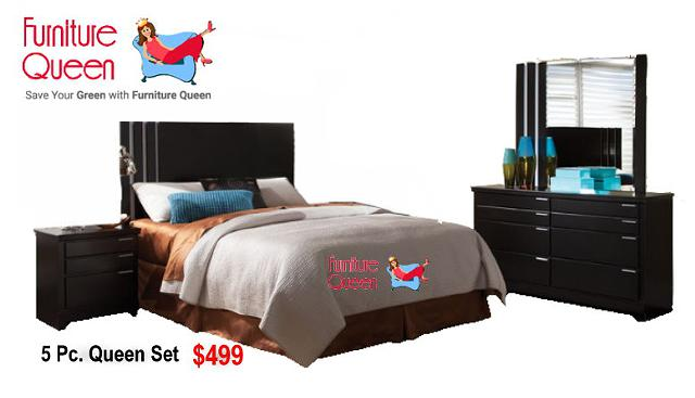 $499, Infinity queen bedroom sets