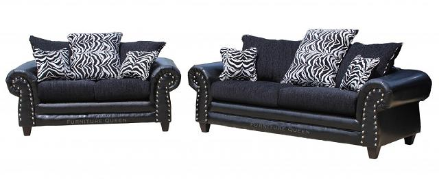 $499, Zanzabar 2pc sofa sets limited quantity