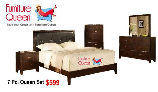$599, Queen Bedroom Furniture Sale