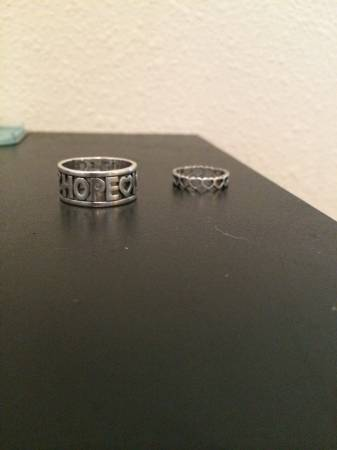 James Avery rings  -   x0024 50