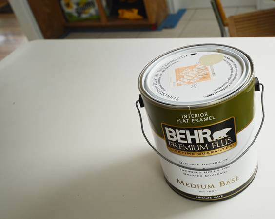 Gallon of BEHR paint, taupe - $5 (MemorialGessner)