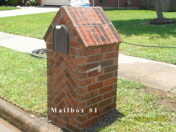 Brick Mailbox and Repair - $350 (Houston and All Surrounding Areas)