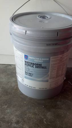 Sherwin Williams Waterborne Acrylic Dryfall Paint 5 Gallons - $140 (HoustonPasadena)