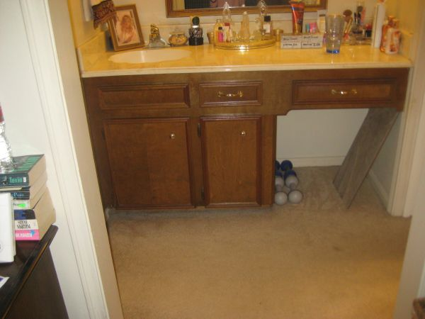 Two vanity counter tops both w built-in sinks - $50 (SW Houston)
