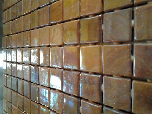 Daltile Terra Cotta and Glass Tiles - $2 (FM 1464)