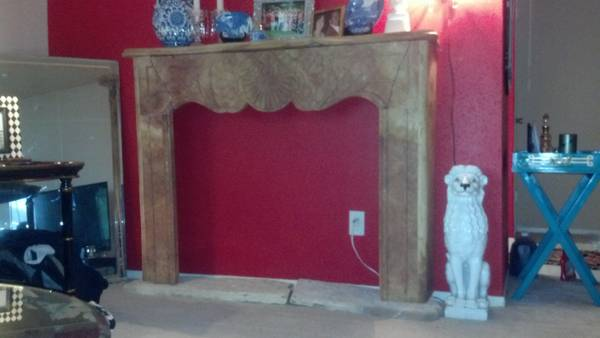 fireplace surround - $550 (pearland)