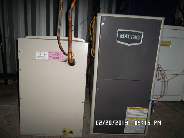 BRAND NEW MAYTAG GAS FURNACE AND EVAPORATOR (COIL) R 410A NEW FREON - $799 (CHANNELVIEW BAYTOWN)