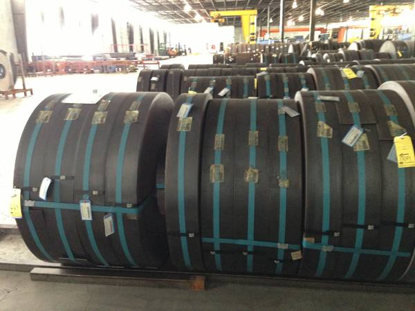 J55 Steel Coil slit for 2-38 O.D pipe - $1 (Baytown)
