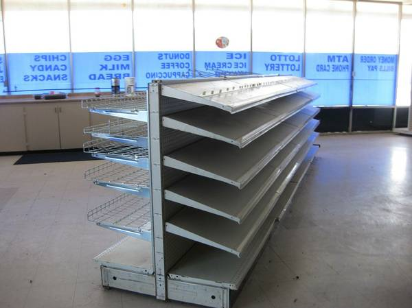 Convenience Store Shelving and Fixtures (SW Houston)