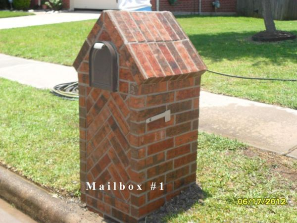 Brick Mailbox and Repair - $300 (Houston and All Surrounding Areas)
