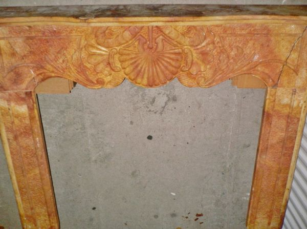 BRAND NEW NATURAL CARVED STONE FIREPLACE SURROUND - $199 (610 and 290)