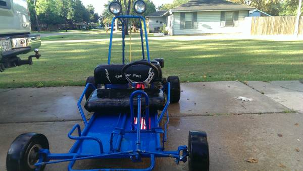 go cart 7hp - $400 (houston)