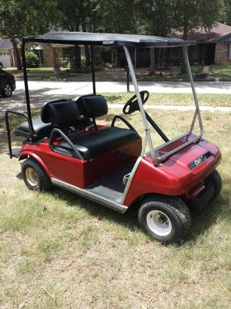 custom painted golf cart (price reduced) - $2500 (spring)
