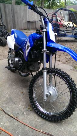 90cc Yamaha dirt bike - $800 (houston)