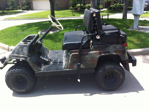 Gas golf cart yamaha G1 - $1000 (Katy)