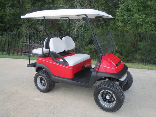 Club Car with NEW 2013 Batteries NEW Factory bodys (montgomery,lake conroe area,hwy.105 ) )