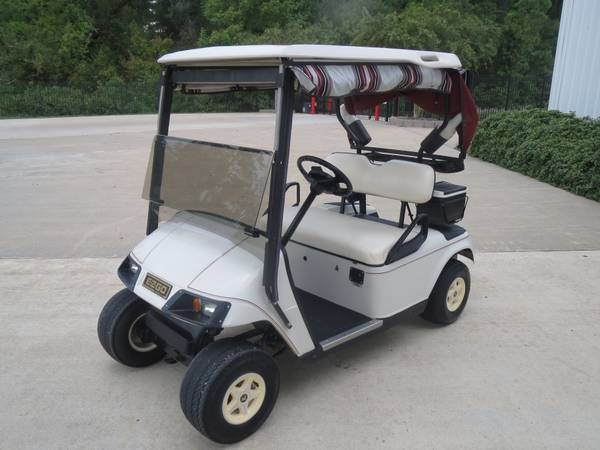 Private owned EZ-GO PDS Model Ready to play - $2250 (montgomery,lake conroe area,hwy.105)