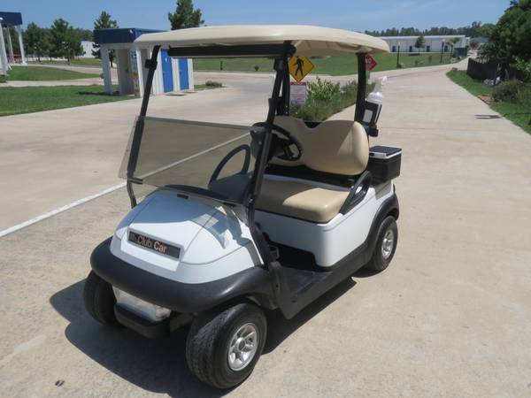 Club Cars EZGO RXVS all with NEW 2013 Batteries Starting at - $2650 (montgomery,lake conroe area,hwy.105 )