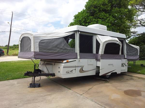 2000 Jayco heritage rainer pop up cer
