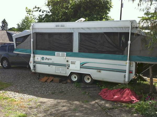 1994 jayco designer series pop up sleeps 6 tandem axle - $1700 (houston)