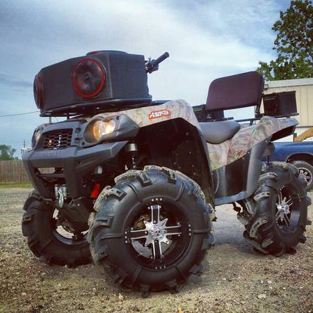 2009 Kawasaki Brute Force 750 Lifted ATV 4 Wheeler - $8700 (Manvel)