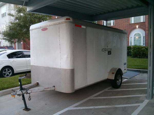 Pace 6x12 Enclosed Trailer - $1750 (Woodlands Spring)