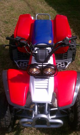 Yamaha Warrior 350 Atv in amazing condition w mods - $1300 (Tomball)