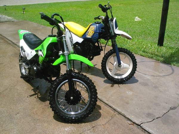 suzuki and yamaha dirtbikes - $700 (houston)