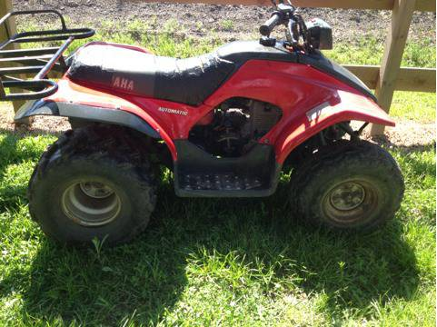 125 CC Yamaha breeze four wheeler - $800 (Crosby )